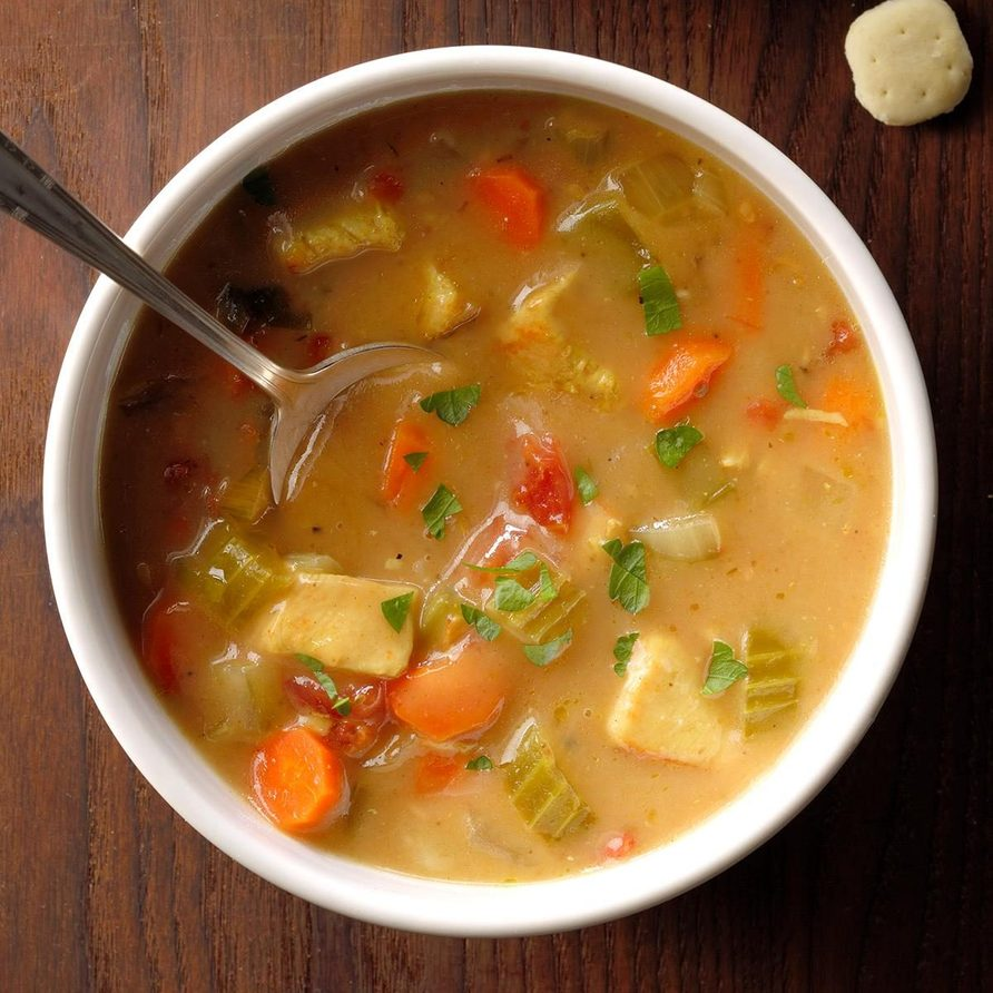 Rave review chicken soup recipe