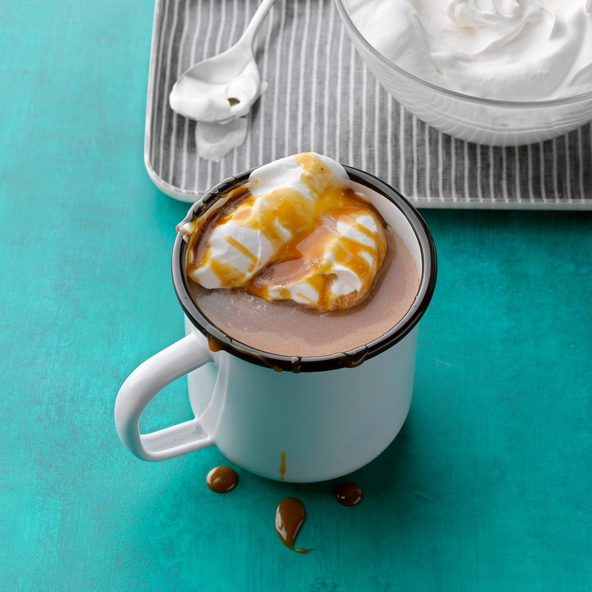 Salted Caramel & Banana haute chocolate