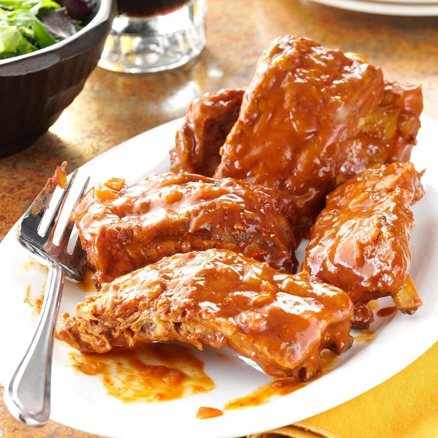 Slow and Easy Baby Back Ribs