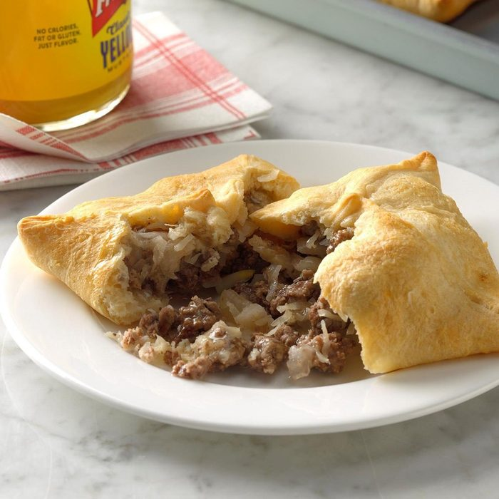 Tangy Beef Turnovers recipe