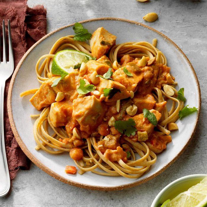 Day 5: Thai Chicken Pasta