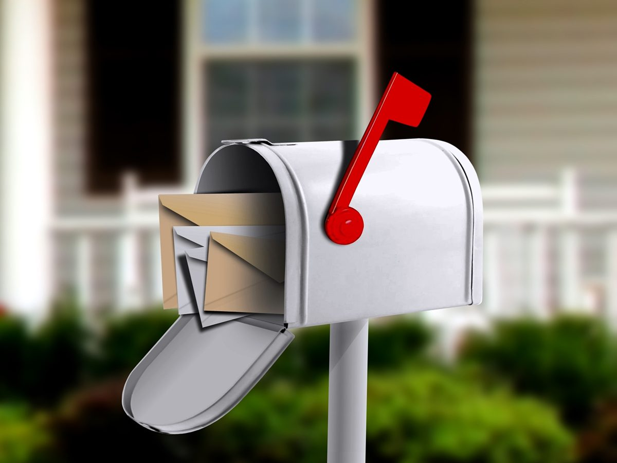 Best Readers Digest Jokes - Mailbox With Mail