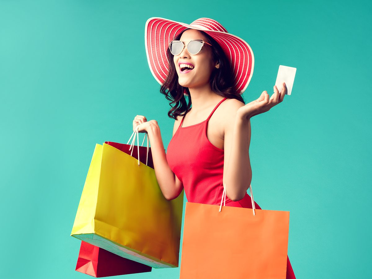 Best Readers Digest Jokes - Woman Shopping
