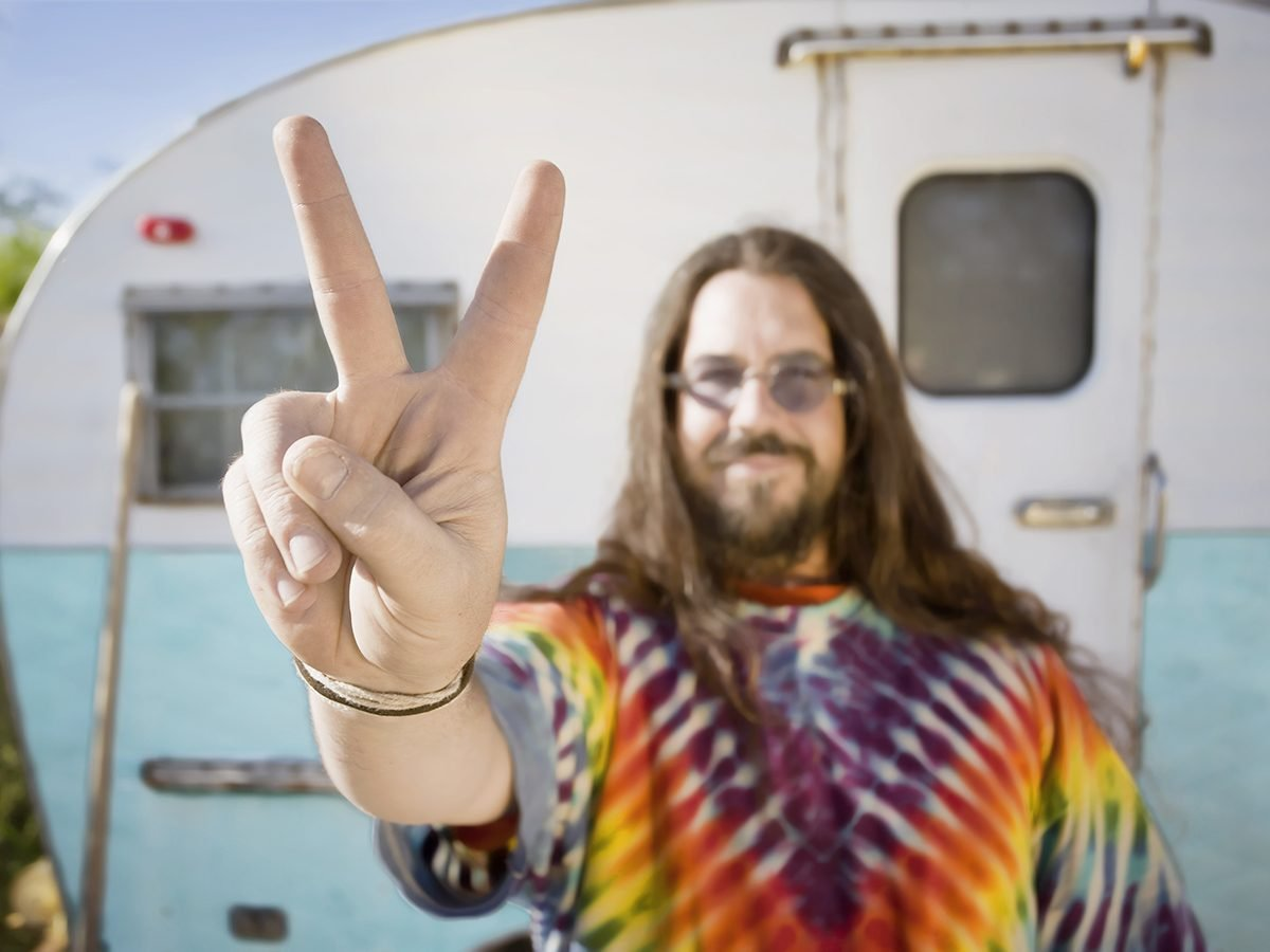 Funniest Readers Digest Jokes - Hippie Camper Van