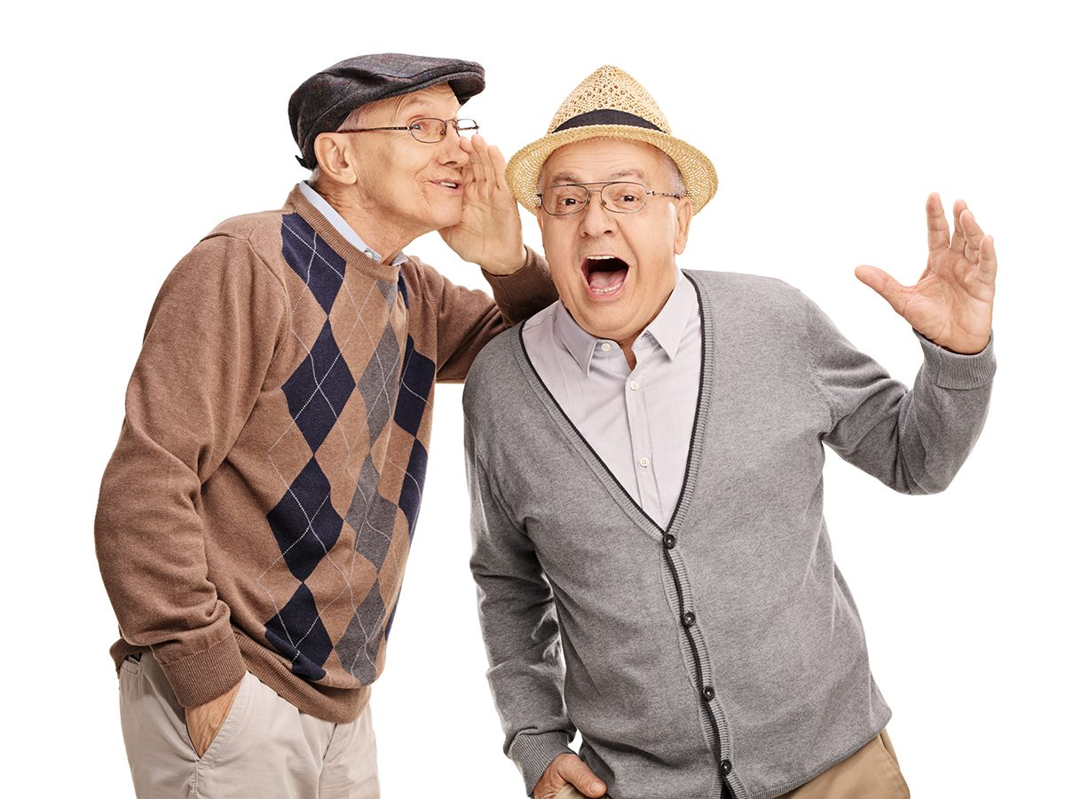 Funniest Readers Digest Jokes - Old Men Secret