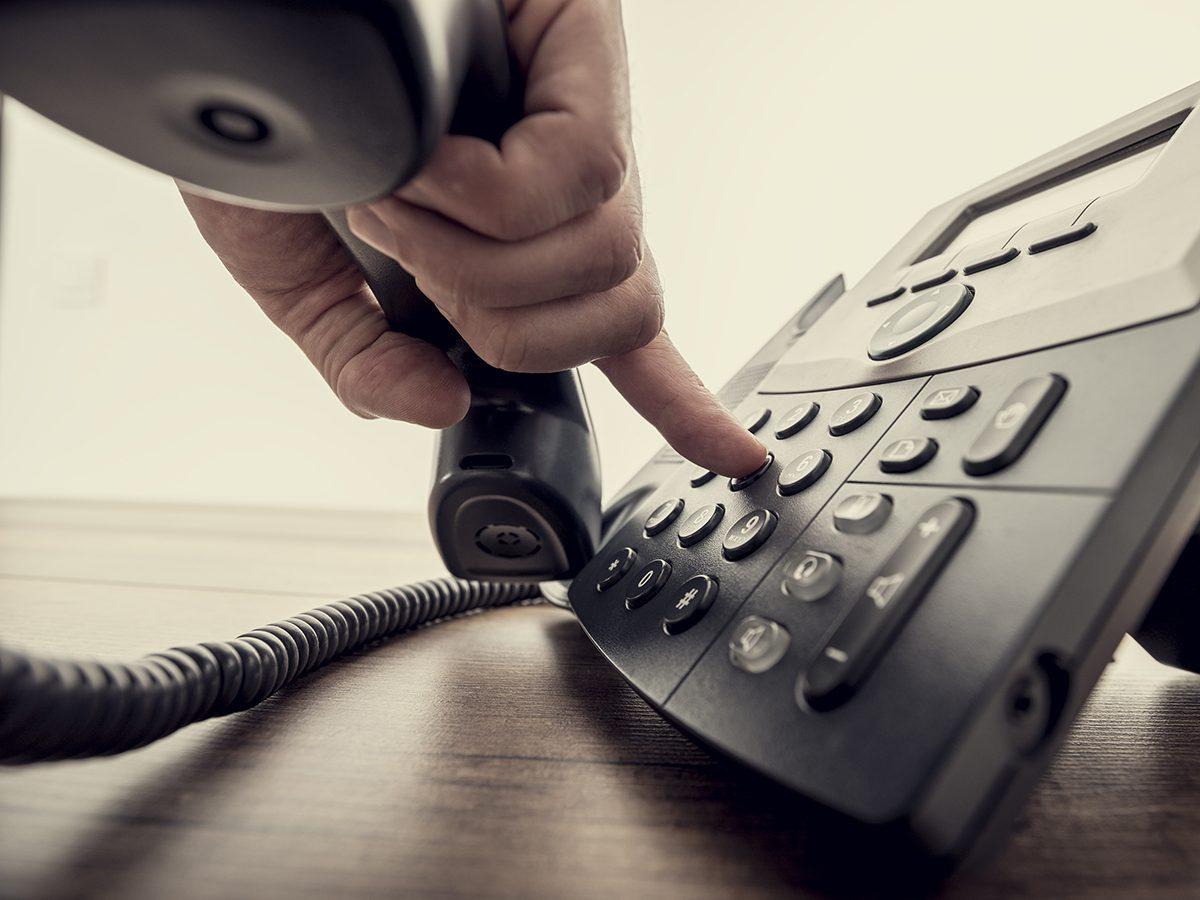 Funniest Reader's Digest jokes - phone call