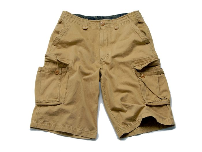 Funny parent tweets - cargo shorts isolated