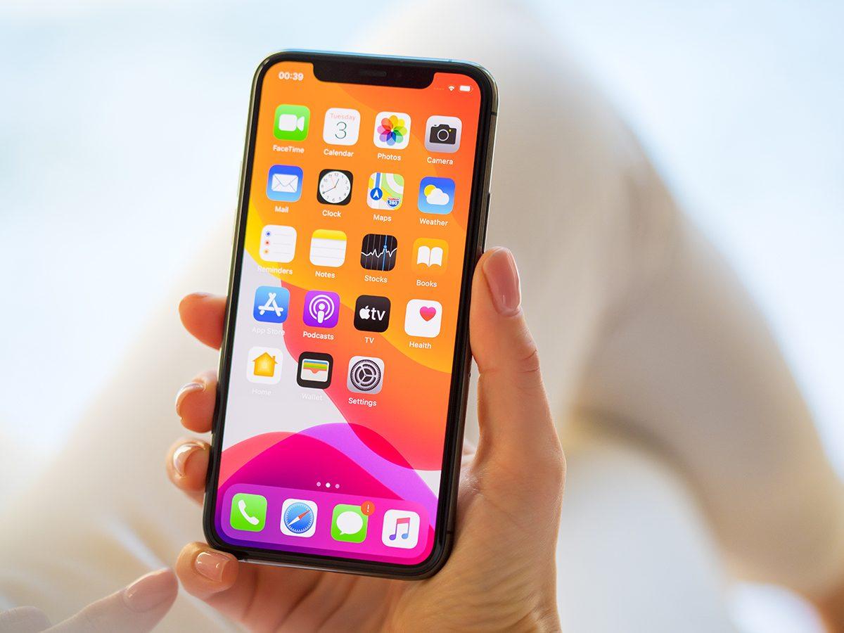 Iphone Tricks Woman Holding Phone