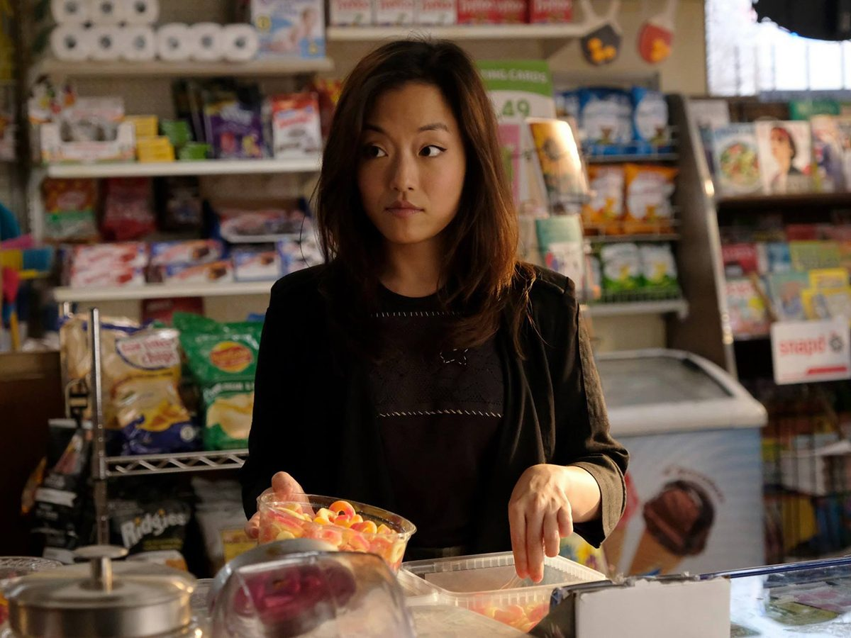 Kims Convenience Quotes - Janet in the store