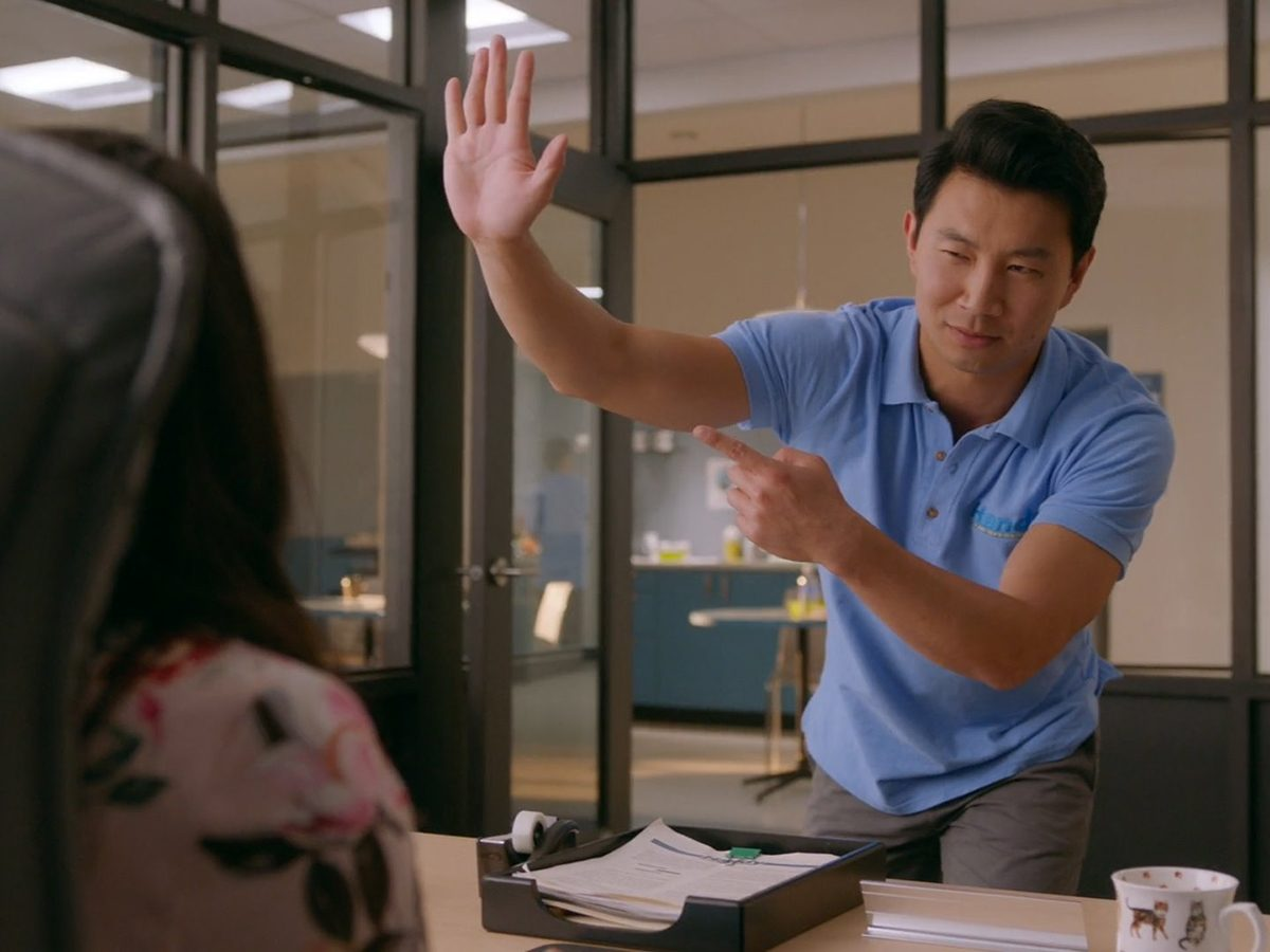 Kims Convenience Quotes - Jung in Shannon's office