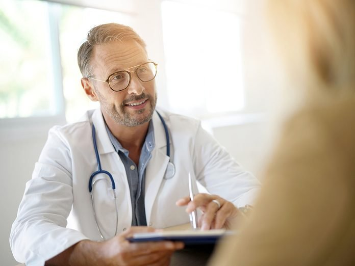 Light Therapy - Doctor Consulting Patient