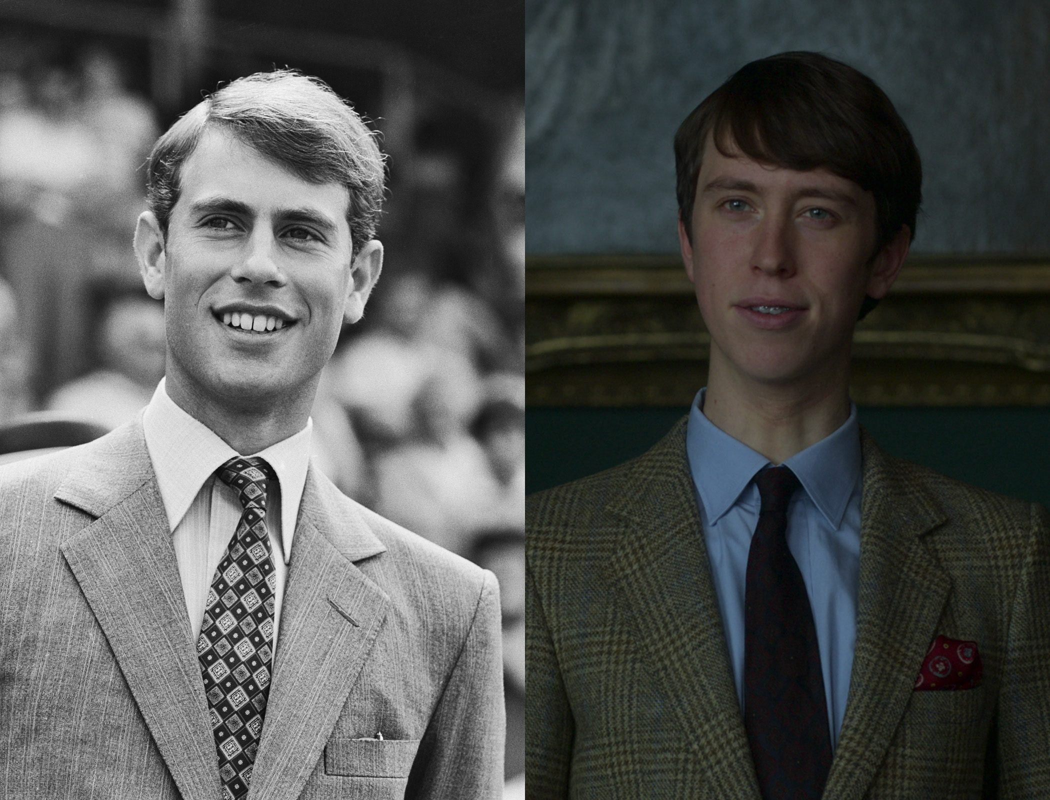 Prince Edward, as played by Angus Imrie