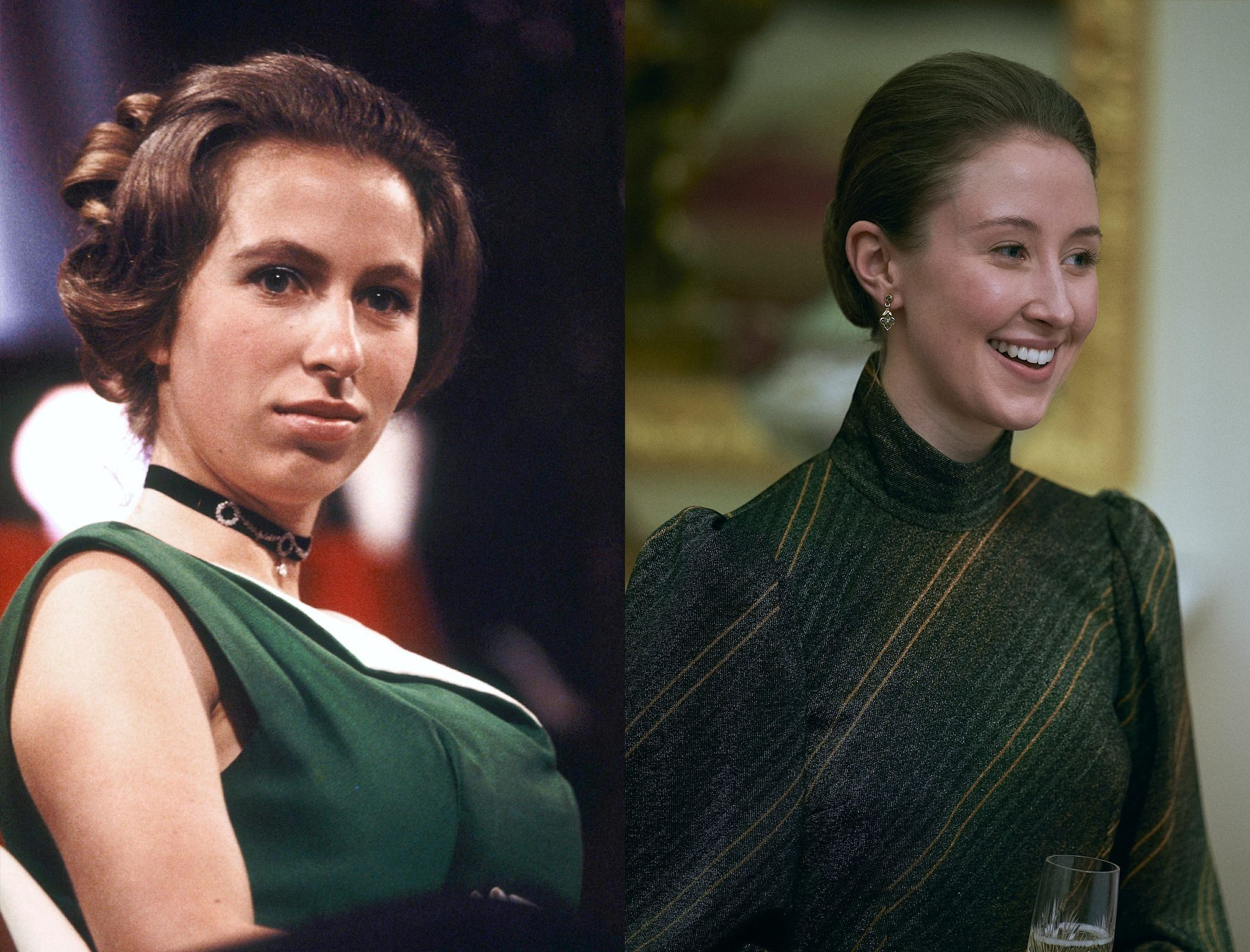 Princess Anne, as played by Erin Doherty