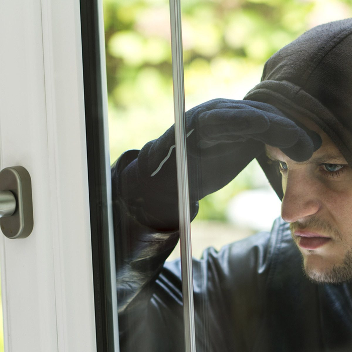 Valuables in plain sight motivate thieves.