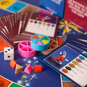 Trivial Pursuit Facts - A 1980s Disney version of the classic board game, Trivial Pursuit