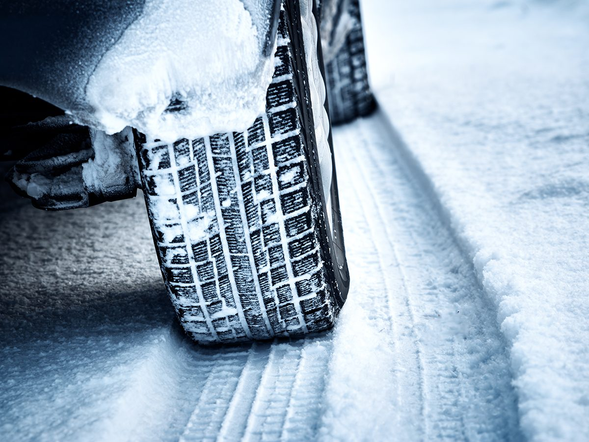 Winter Road Trip Essentials - Snow Tires