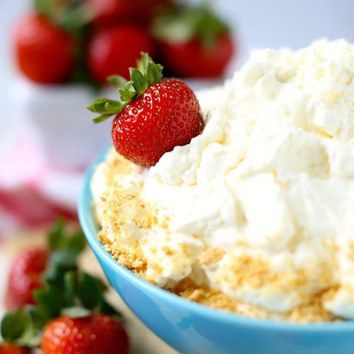 2 Ingredient Cheesecake Fruit Dip valentines desserts