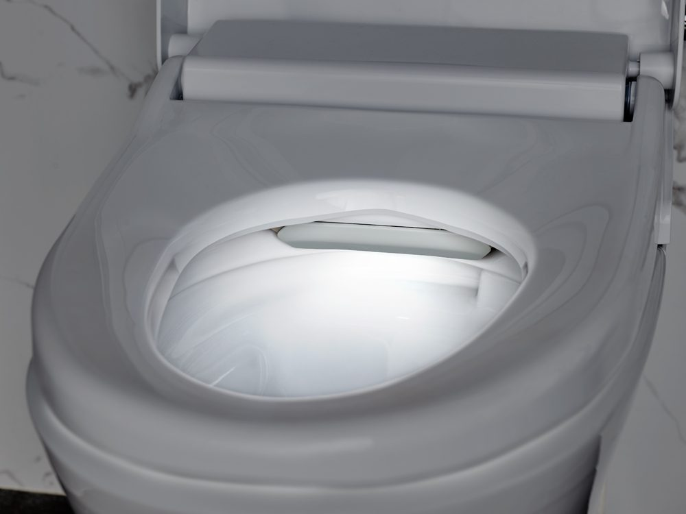 Advanced Clean 100 Spalet Toilet
