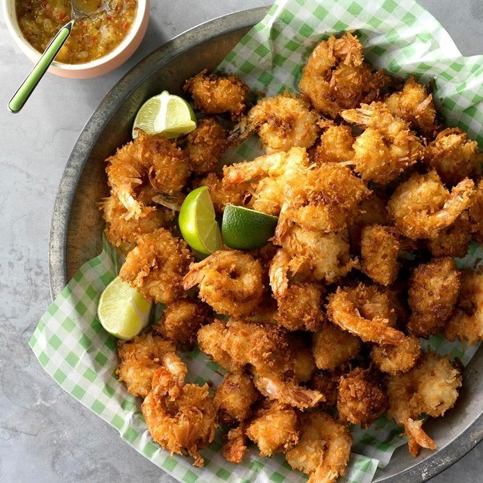 Coconut Chicken And Shrimp recipe