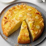 Pineapple Coconut Upside-Down Cake