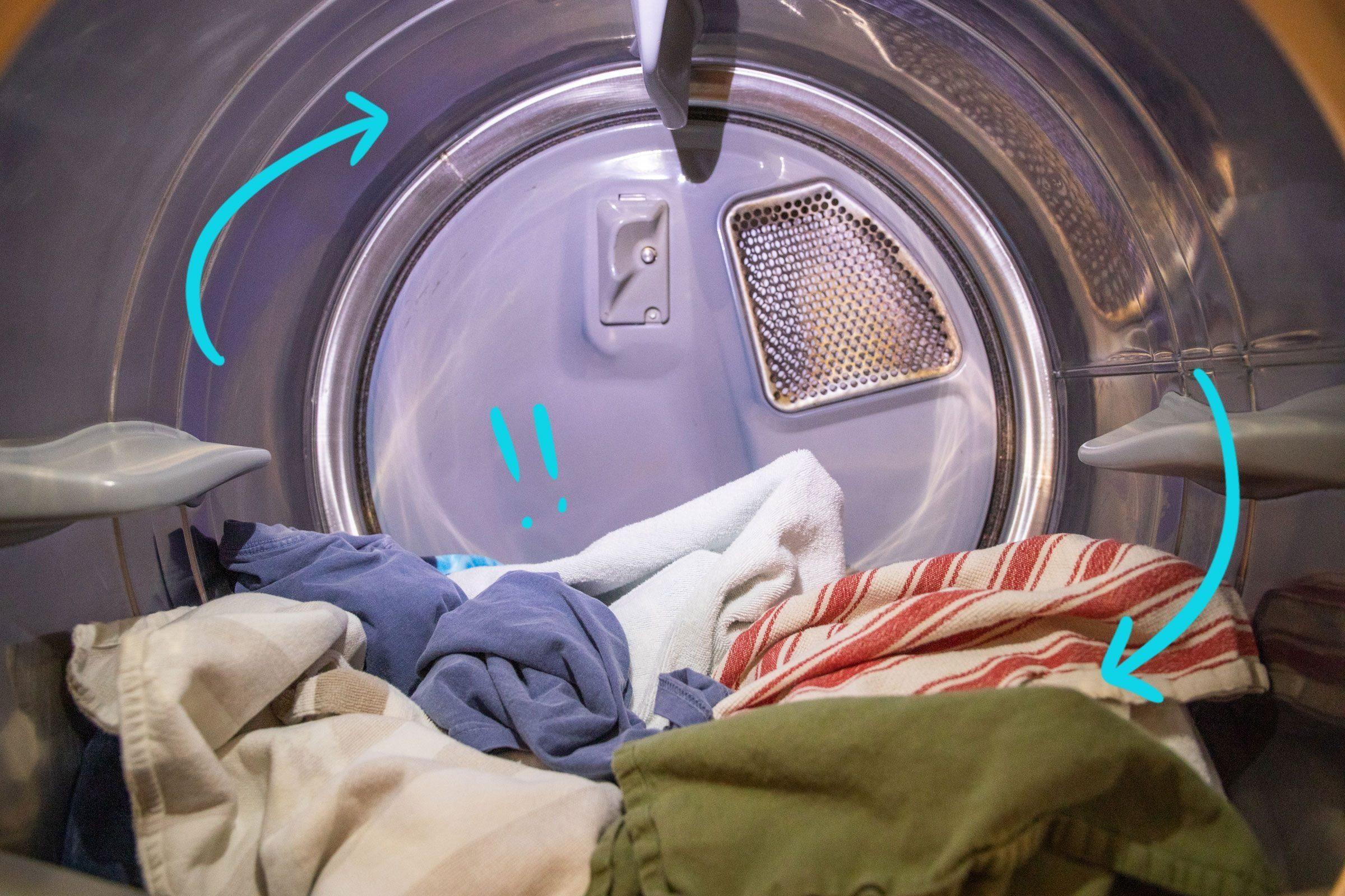 Dryer not rotating