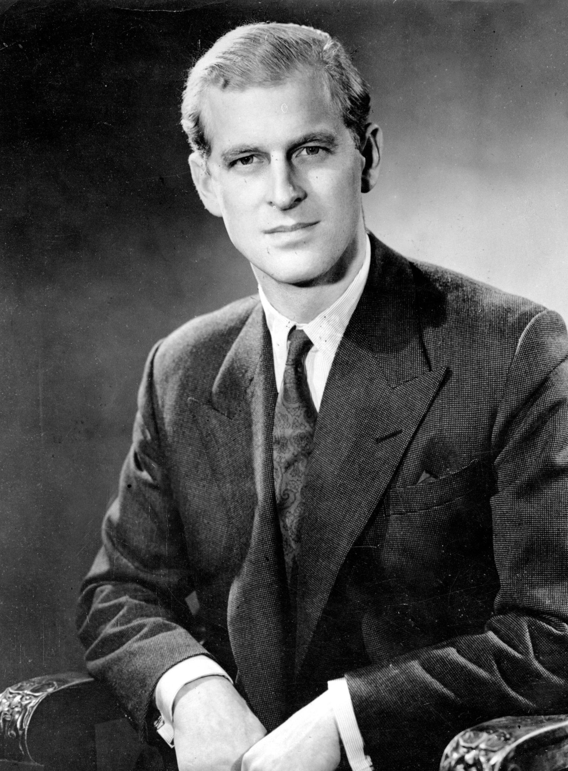 Portrait Of Prince Philip, November 1947