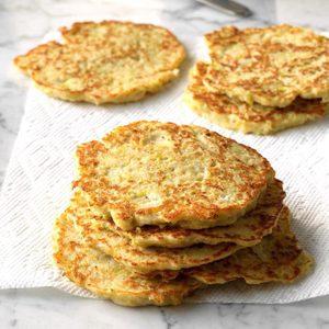 Leek Potato Pancakes