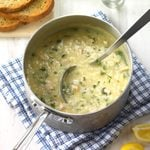 Lemony Turkey Rice Soup