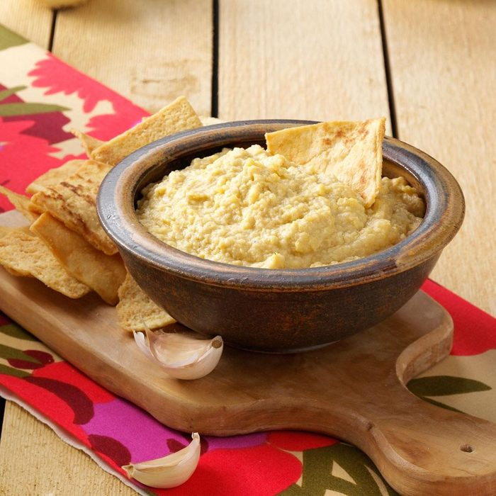 Lick The Bowl Clean Hummus recipe