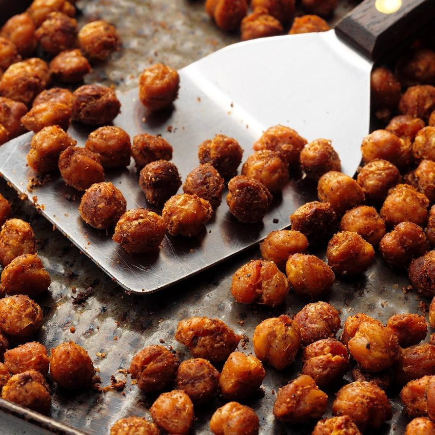 Roasted Curry Chickpeas recipe