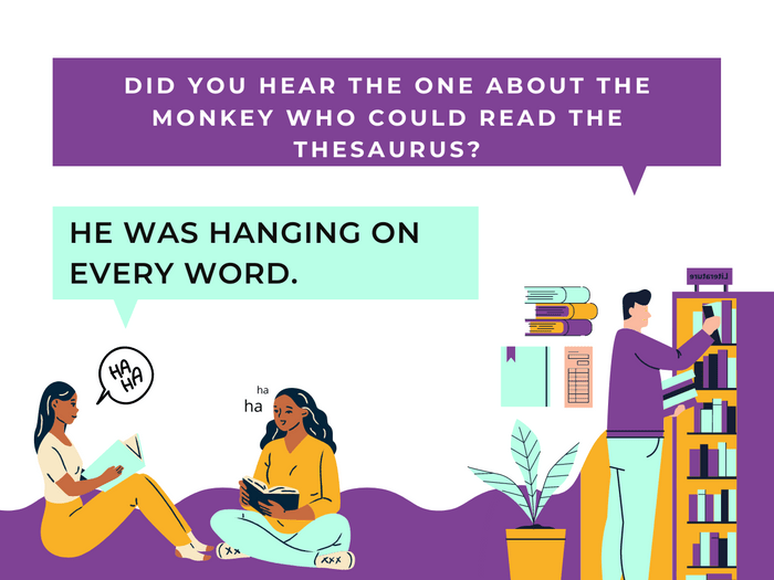 Thesaurus Jokes- Going Ape