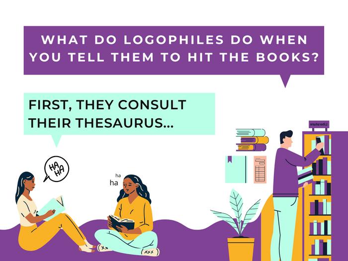 Thesaurus Jokes- Book Learnin