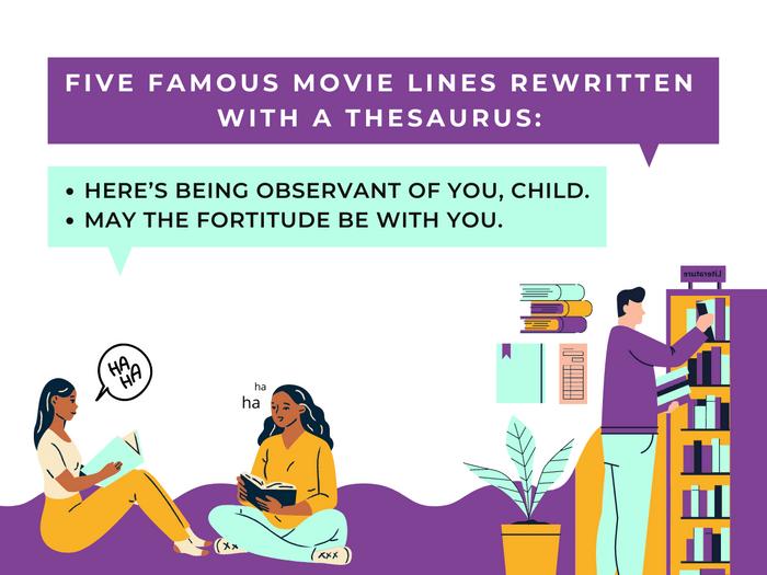 Thesaurus Jokes- Movie Madness