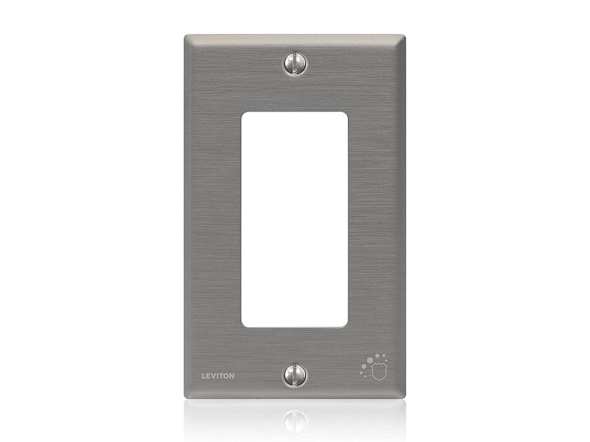 Antimicrobial Home Hardware Amazon Leviton Switchplate