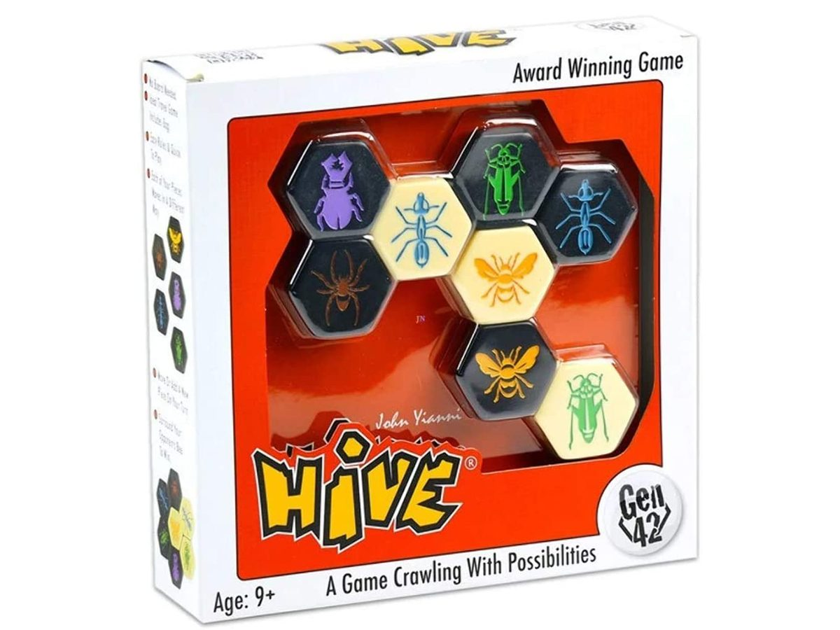 Best Board Games For Two Players - Hive