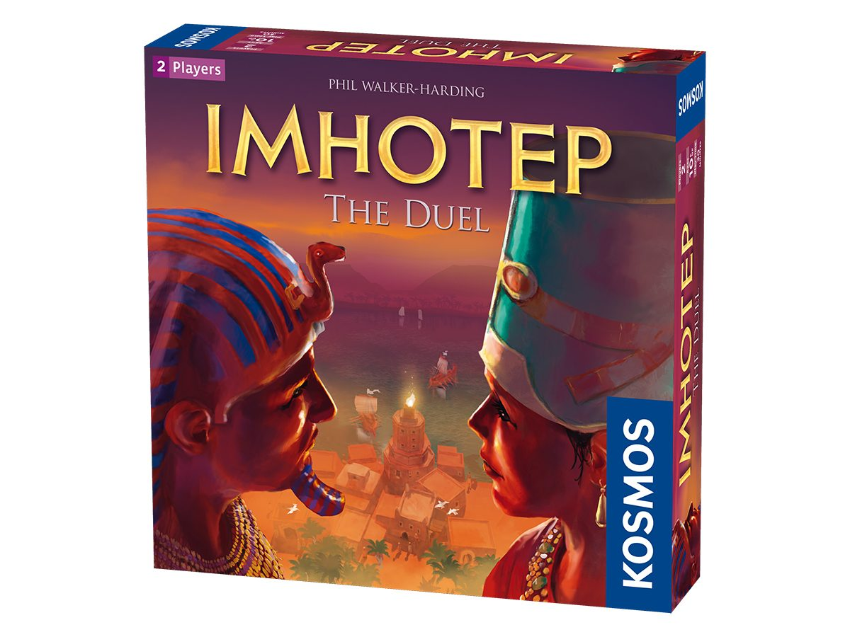 Best Board Games For Two Players - Imhotep The Duel 2