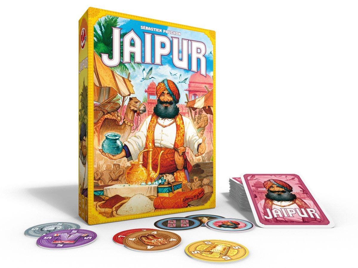 Best Board Games For Two Players - Jaipur