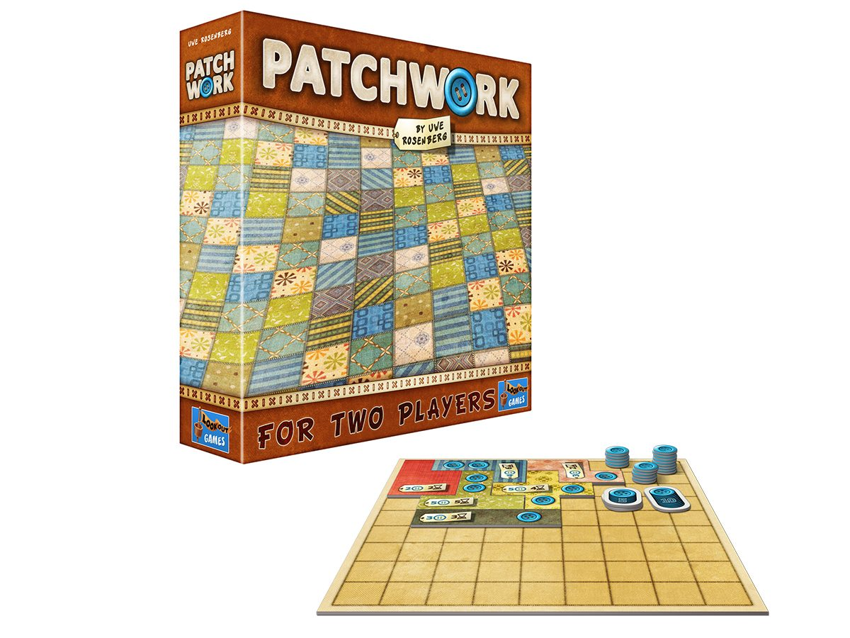 Best Board Games For Two Players - Patchwork