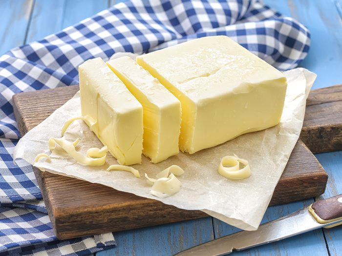 Canadian butter and palm oil