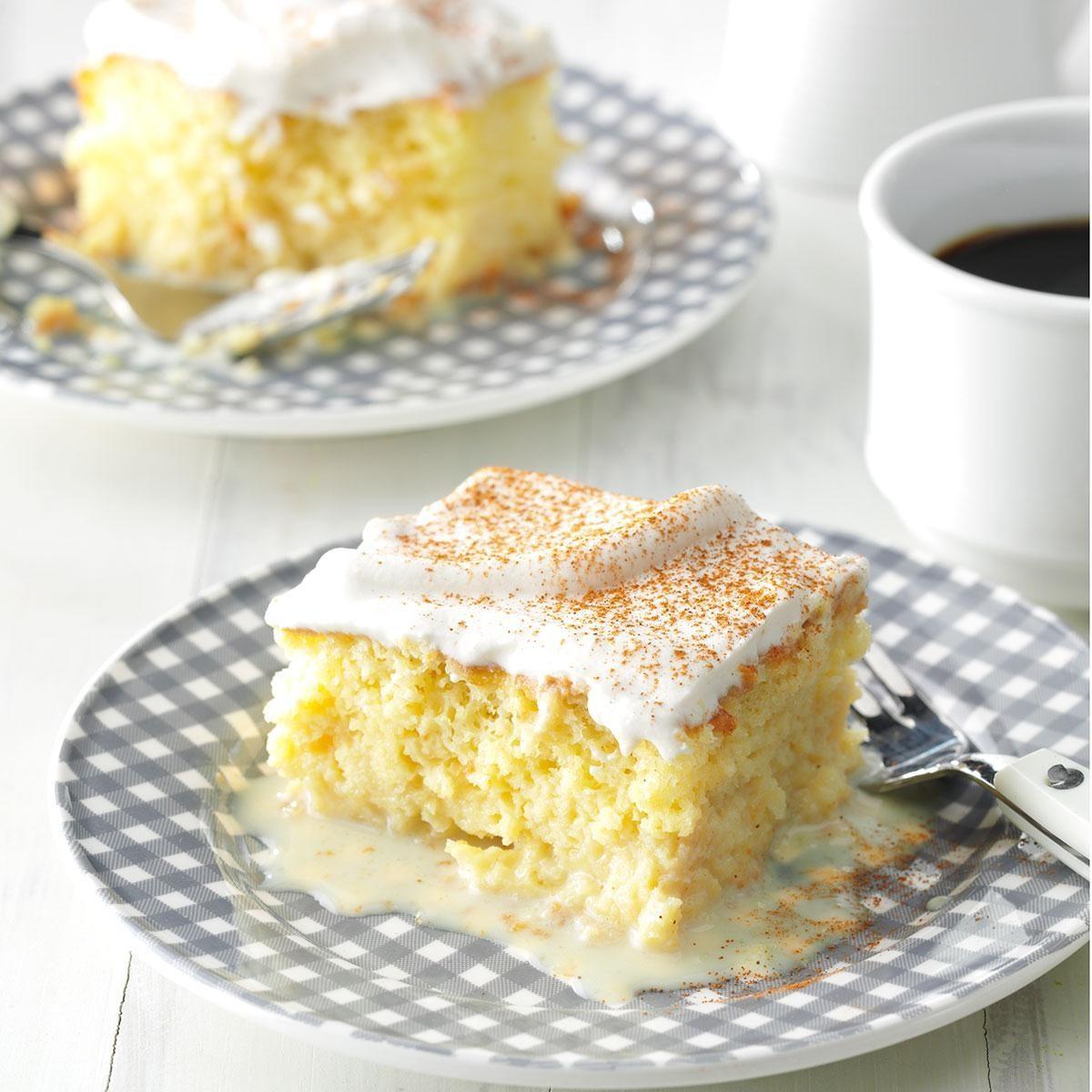 Shortcut Tres Leches Cake