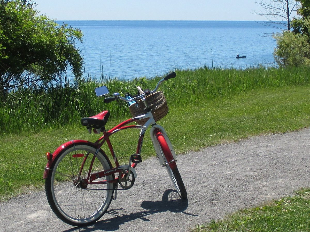 My Happy Place - Bike By The Lake