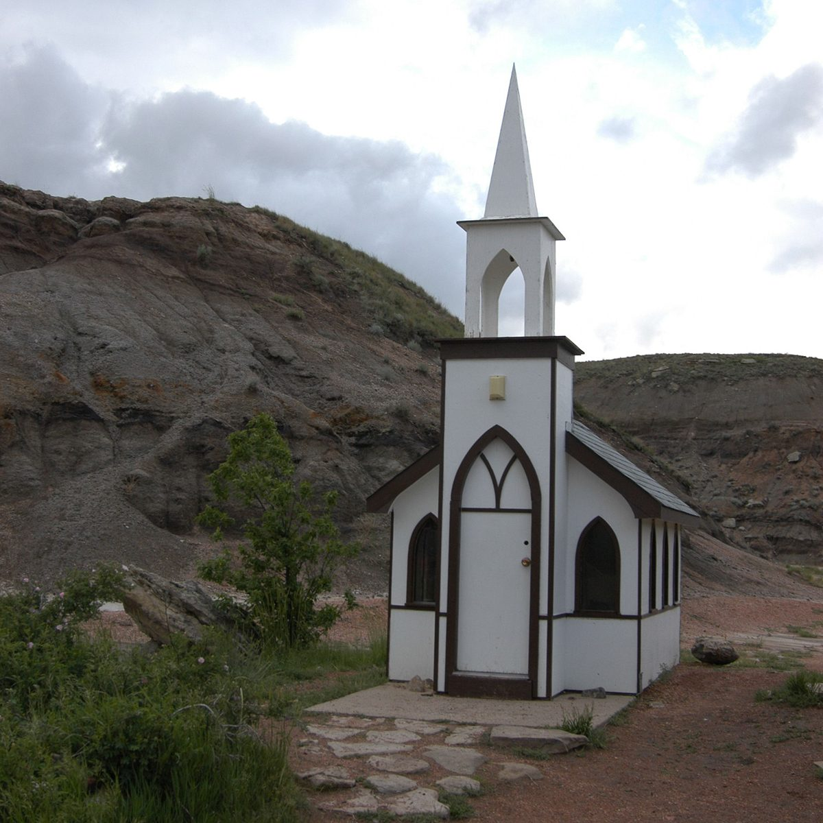 My Happy Place - Little Church Drumheller