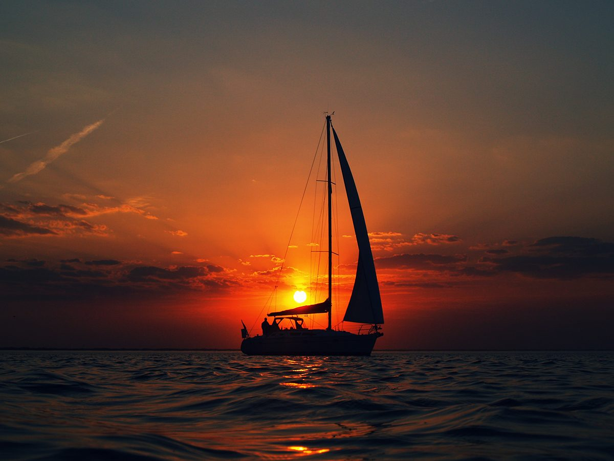 My Happy Place - Sailing Into The Sunset