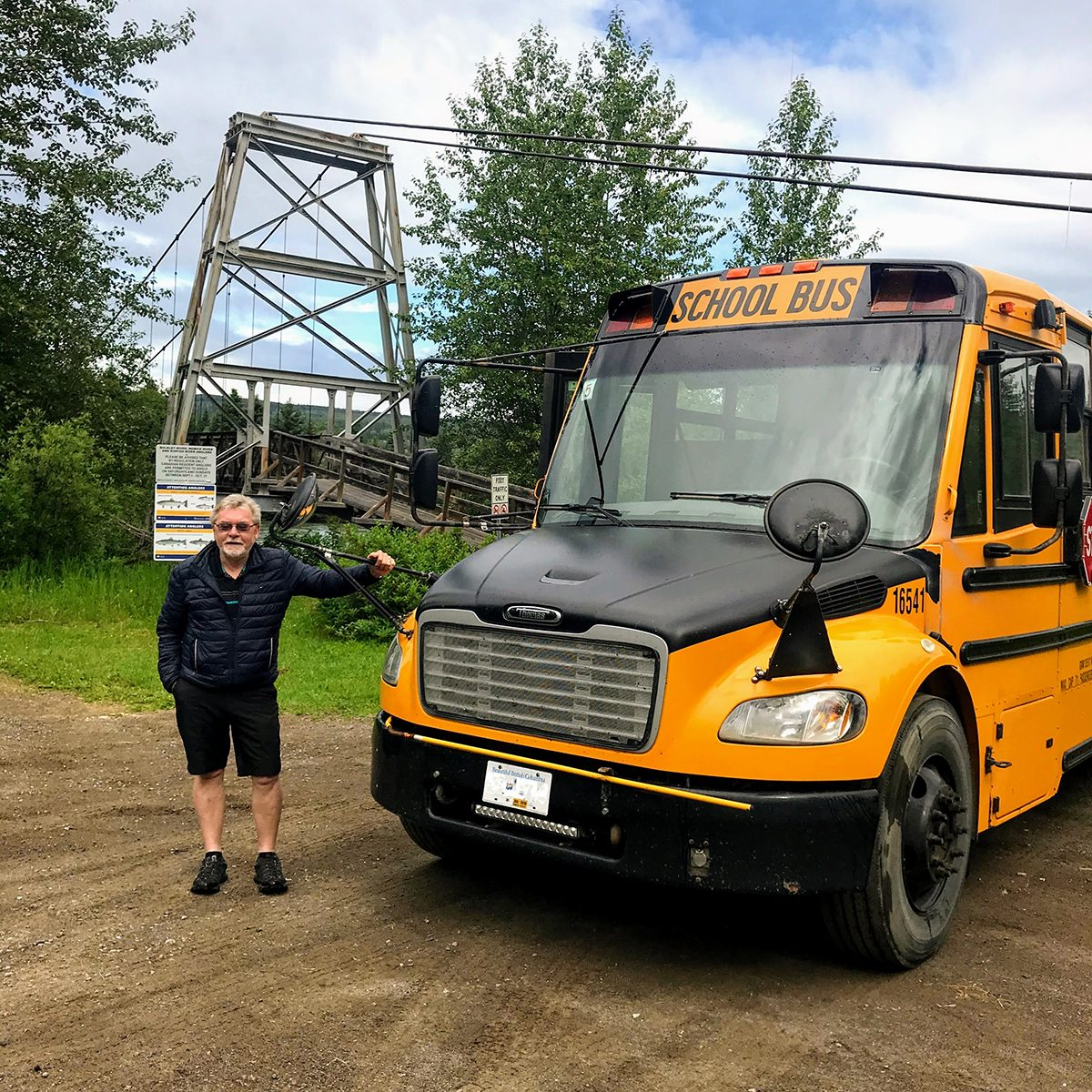 My Happy Place - School Bus