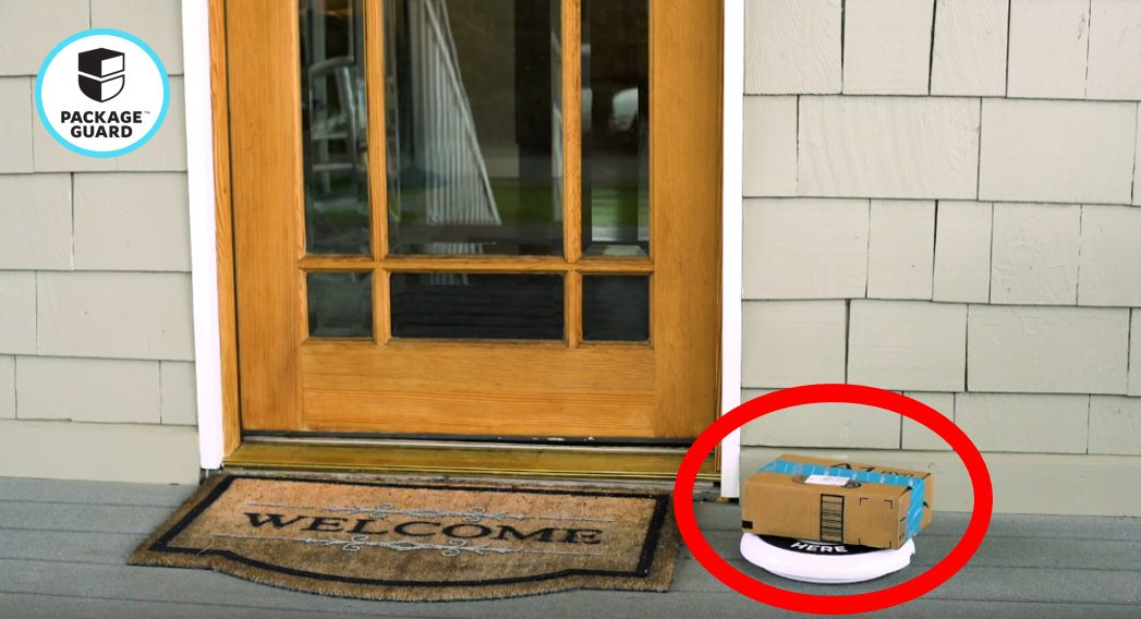 Outsmart Porch Pirates - Package Guard
