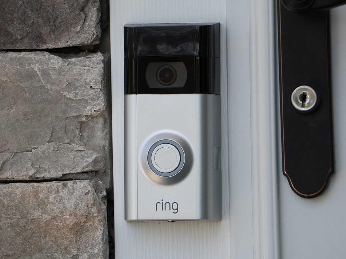 Outsmart porch pirates - Ring smart doorbell with video camera