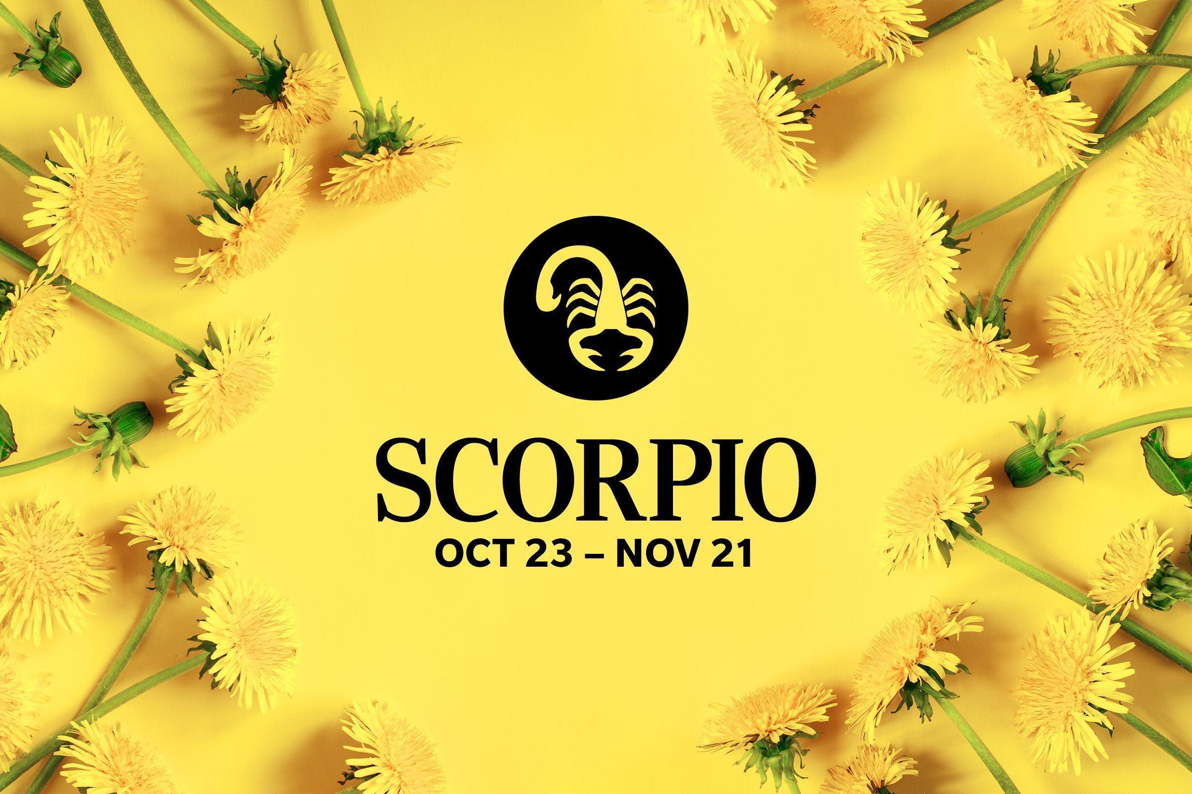 Scorpio (October 23-November 21)