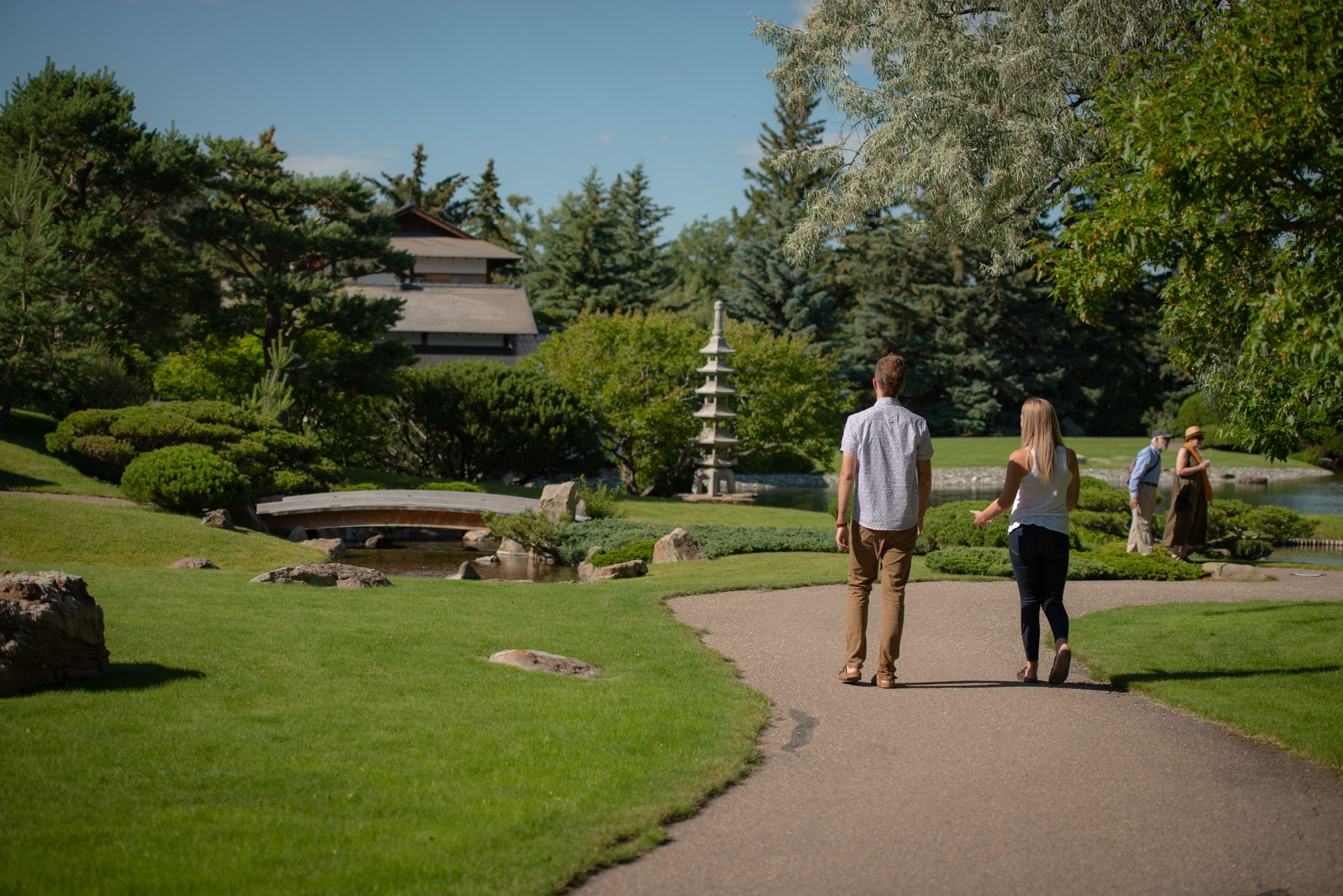 Alberta's Nikka Yuko Garden Botanical Gardens