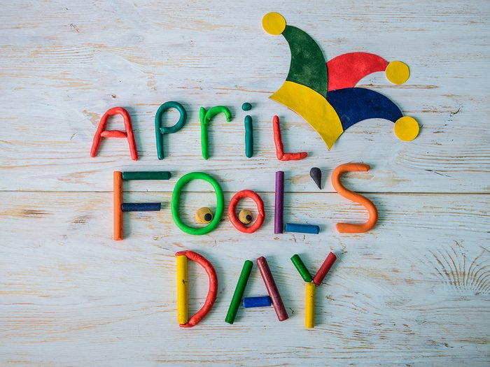 easy April fool's pranks you can play on your family - April Fool's Day