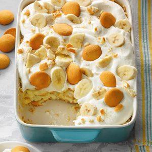 Banana Crumb Pudding